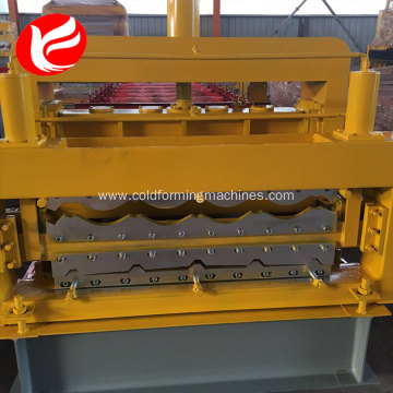 Double layer wall panel metal forming machine