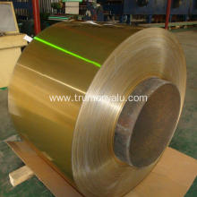 Golden Hydrophilic Coated Aluminum Coil for Air Conditioner