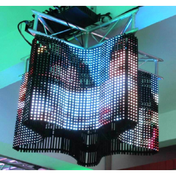 Flexible led display for innovative indoor