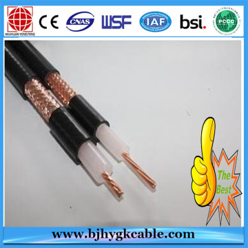Fire alarm coaxial power cable