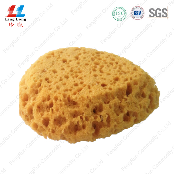 Egg shape coarst hole bath sponge