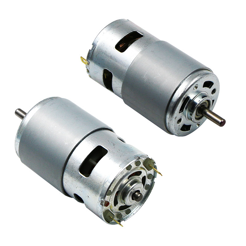 DC12V Motor 775/795/895 Double Ball Bearing 6000-12000RPM Large Torque High Power Low Noise Hot Sale Electronic Component Motor