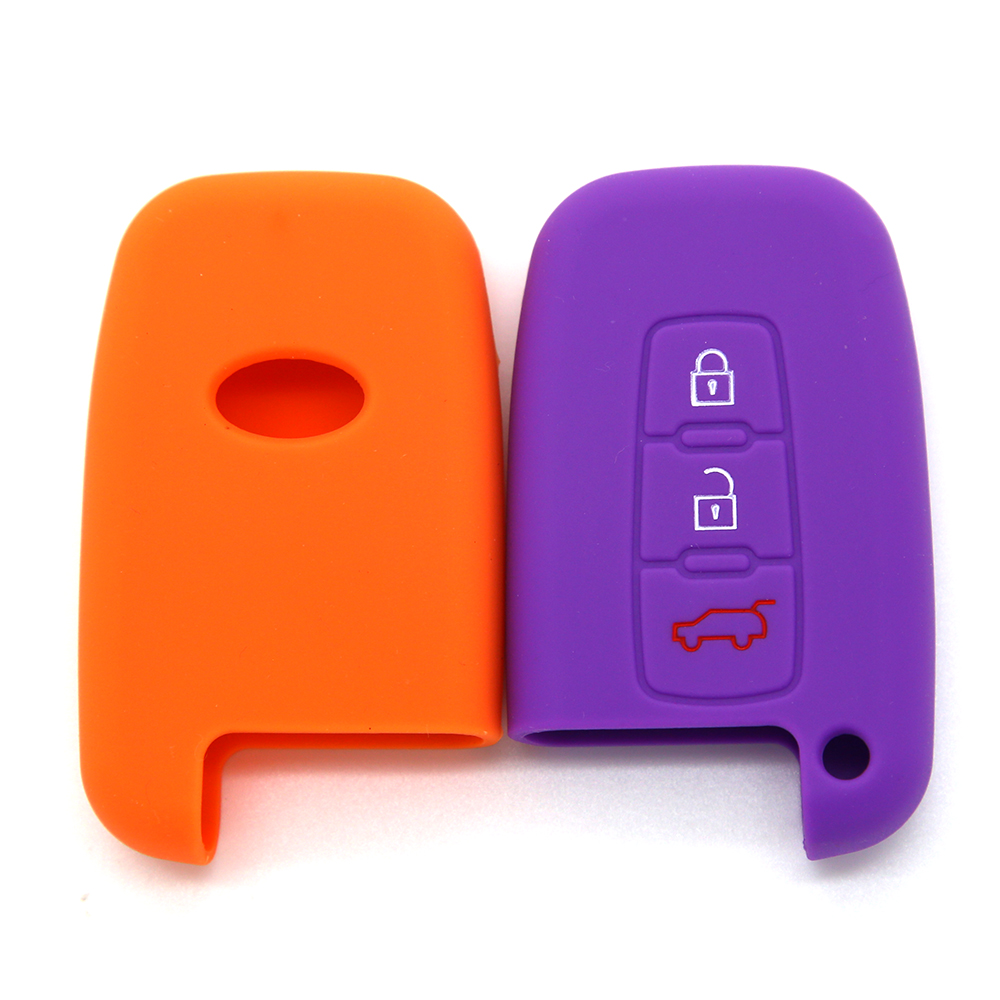 Rubber Car Key shell for Hyundai