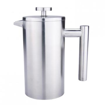 Doule walled French press coffee maker