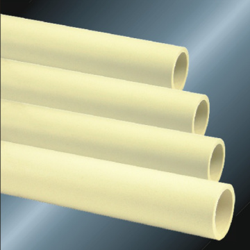 ASTM D2846 Pressure Cpvc Pipe Milk Yellow Color