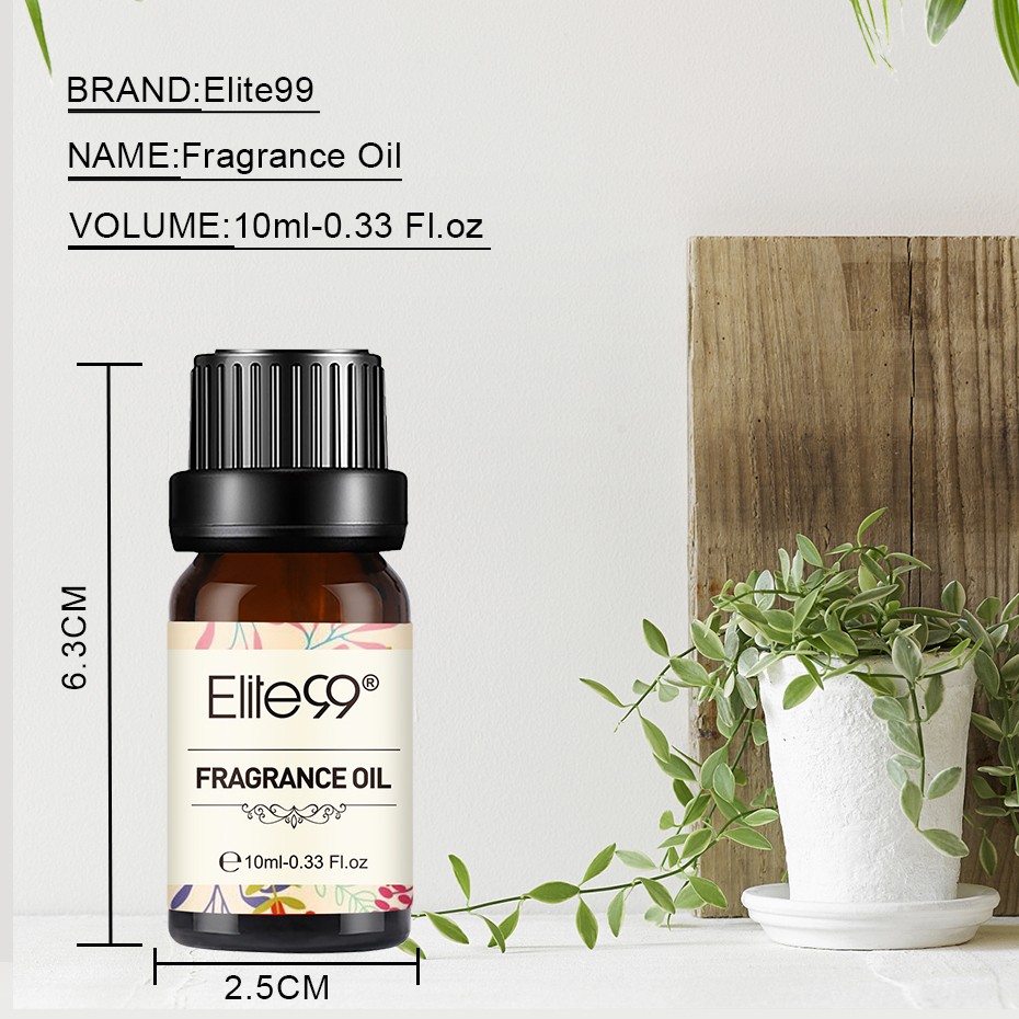 Elite99 10ml Coconut Vanilla Fragrance Oil Sandalwood Flower Essential Oils For Bathing Aromatherapy Humidifier Purifying Air