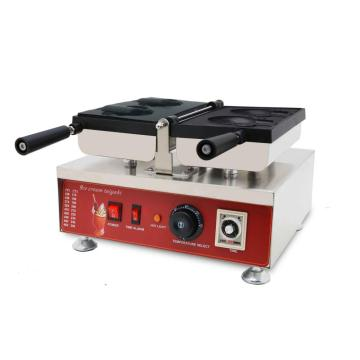 High quality electric bear waffle machine ice cream cone waffle machine with CE