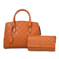 Women's Leather Briefcase Messenger Bag Work Tote