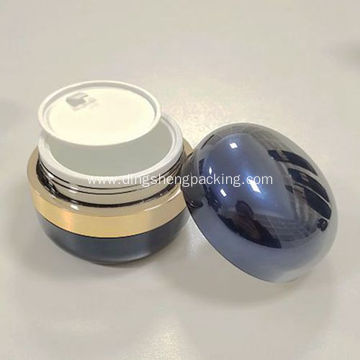 30g acrylic cosmetics packaging round Acrylic pump bottle