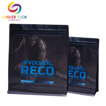 Resealable Foil Laminated Packaging Whey Protein Powder Bag