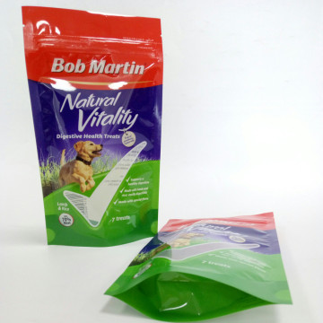 Plastic Bag Stand Up Pouch For Pet Food