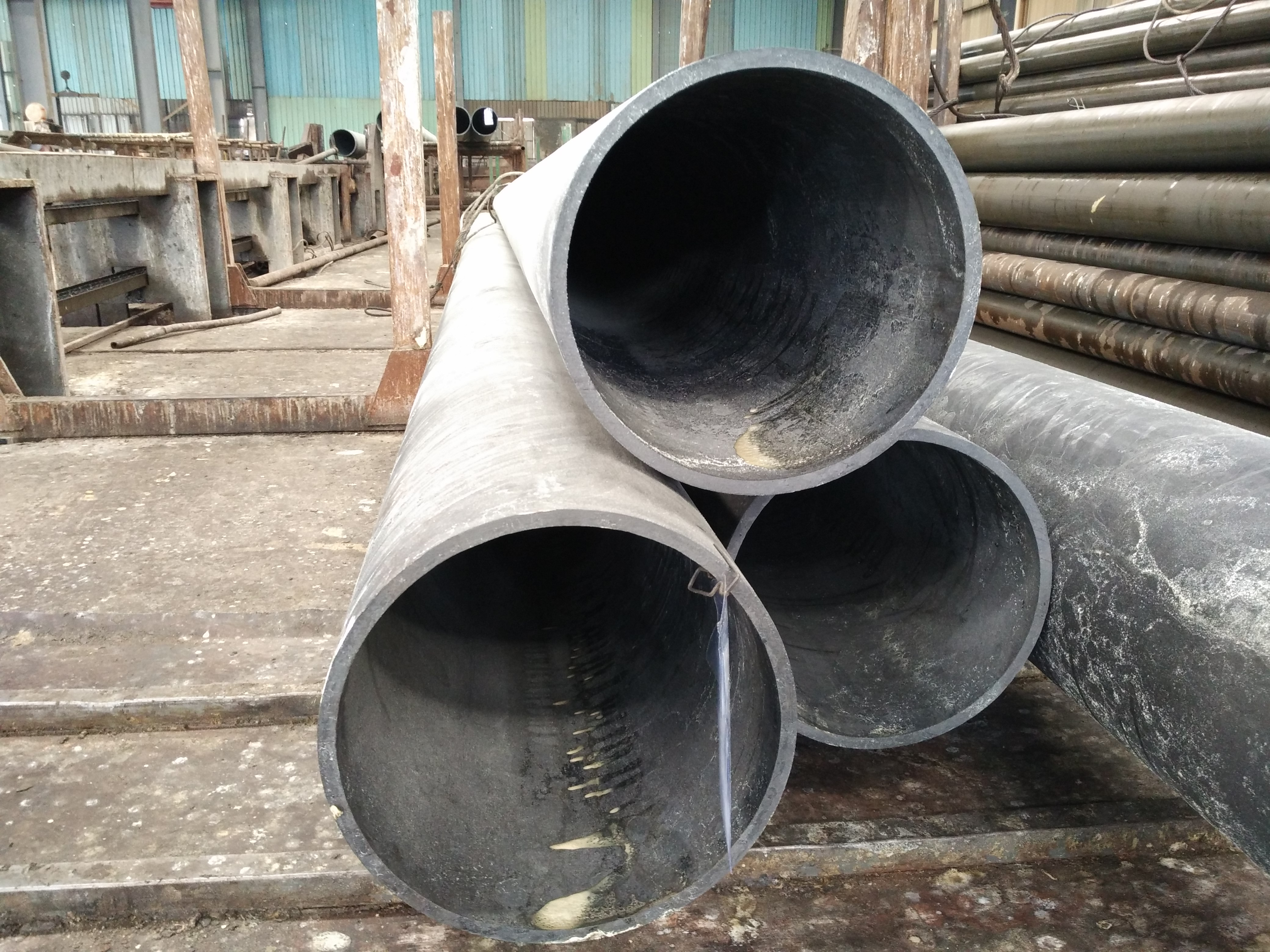 ready to honed steel tube