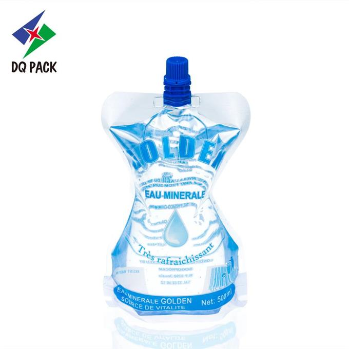 500ml Water pouch Doypack With Spout