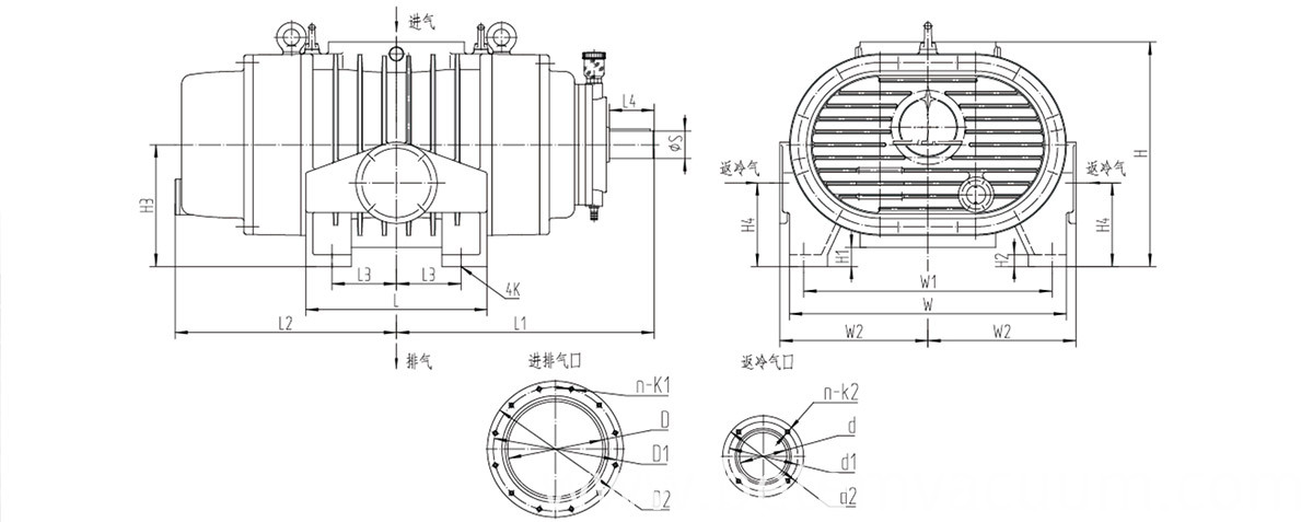 roots vacuum pumps