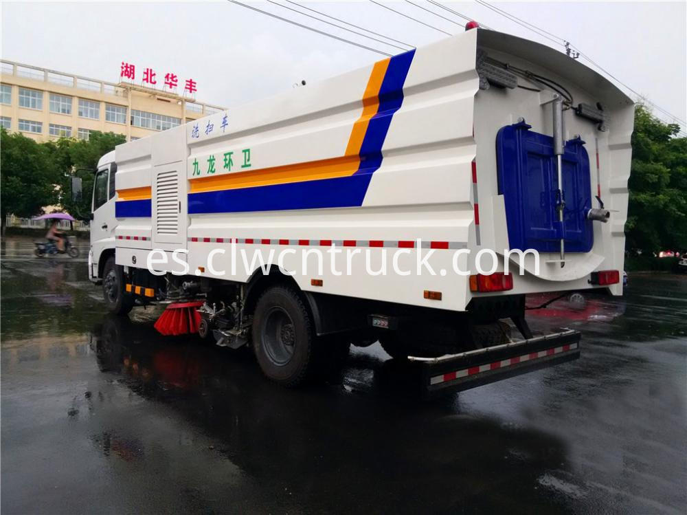 Cleaner Sweeper Truck 6