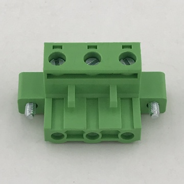 7.62MM pitch pluggable terminal block with fixed screw
