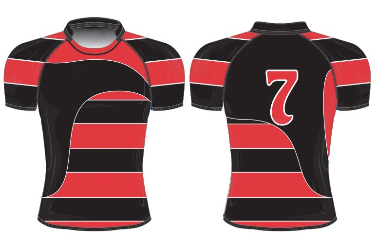sublimated rugby jerseys