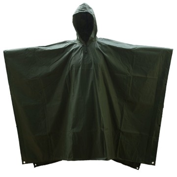 Promotional Customized PVC Reusable Rain Poncho