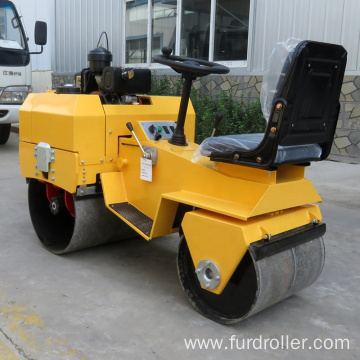 Road construction machinery double smooth drum roller   FYL-855