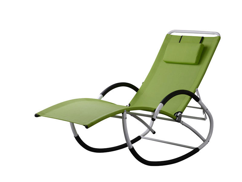 adjustable steel rocking chair S1108