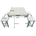 Outdoor picnic reinforced plastic table top