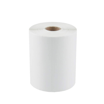 Custom 4x6 blank white self adhesive label rolls