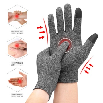 1Pair Rheumatoid Arthritis Magnetic Compression Gloves Wrist Support Finger Pain Relief Therapy Relax Brace Joint Care Tools