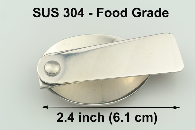 Gorgeous Stainless Steel Folding Spoon