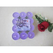 12g Lavender Fragrance Purple Tealight Candle