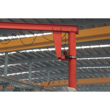 0.25~16ton foot fixed jib crane with electric hoist