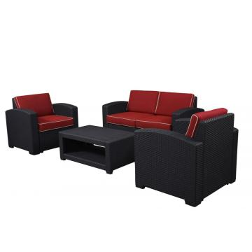 Cheaper garden wicker sofa