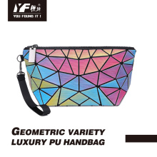 Custom changable color PU hand bag