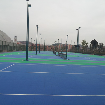 outdoor pp tennis court tiles