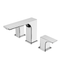 2 Handle Widespread Bathroom Basin Faucet Mixer Taps