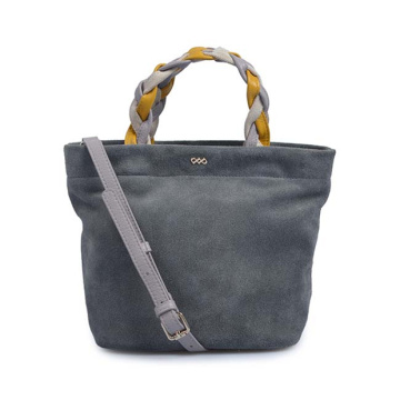 Classic Handbag Casual Suede Leather Shopper