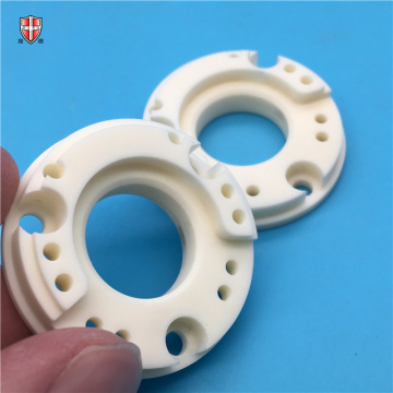 precision spinning 99% alumina ceramic disc guide factory