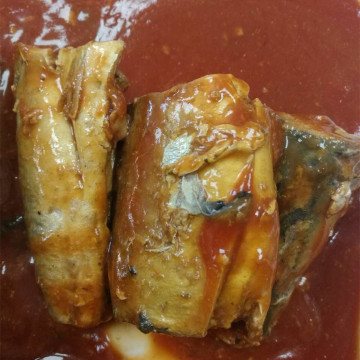 Canned Mackerel In Tomato Paste Experienced Workers