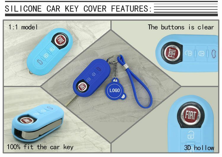 car key protector silicone