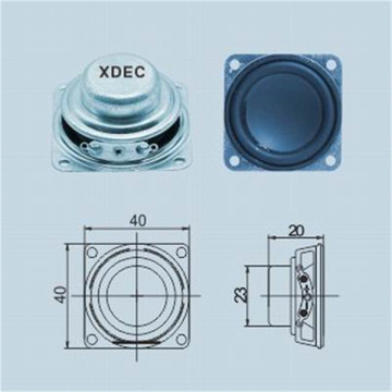 2019 3W 4ohm 40mm Micro Multimedia raw Speaker