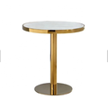 dia40 round gold table leg