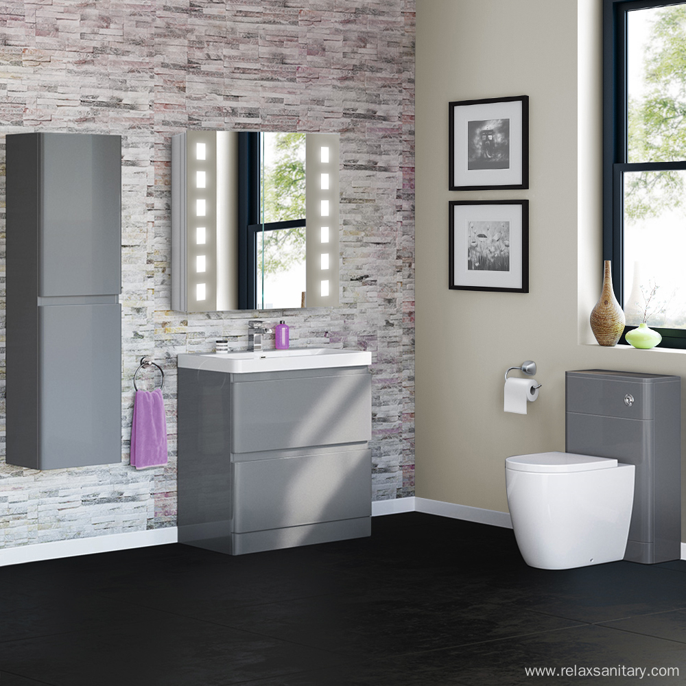 Modern Luxury Wooden Bathroom Furniture Cabinets