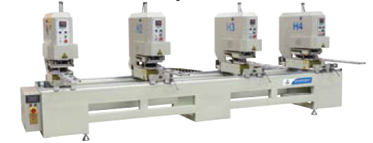 UPVC door & window making machine