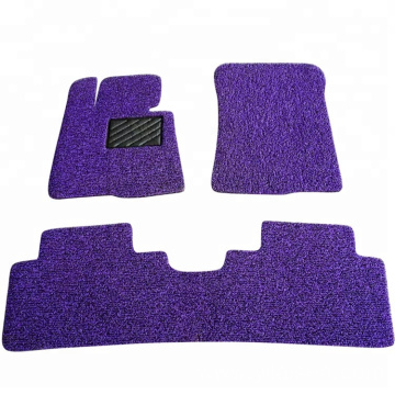 Customized design PVC loop type car mat