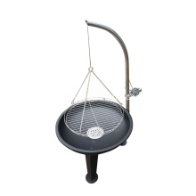 Korean Style BBQ Grill Tripod Charcoal Barbecue