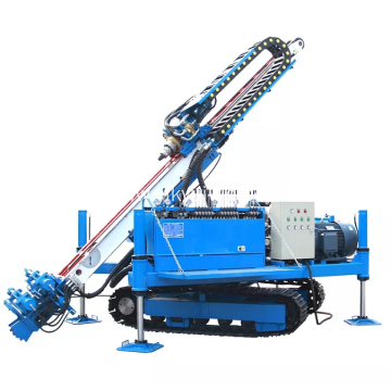 Multifunctional slope anchor hydraulic drilling rig