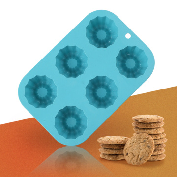 Blue Flower Silicone Cake Mold