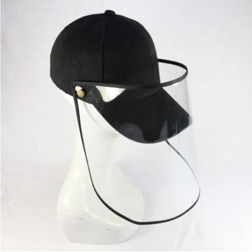 Protective basketball cap faceshield mask hat