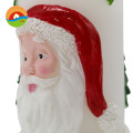 Old man shaped art christmas candle scented candle