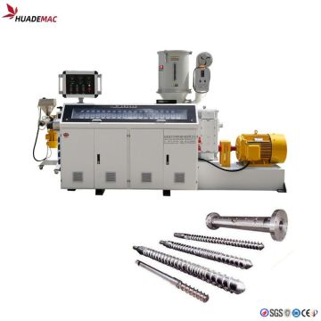 SJ65 single screw plastic extruder