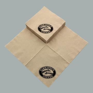 Biodegradable & Compostable Brown Paper Napkin
